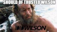 Tom trusts wilson