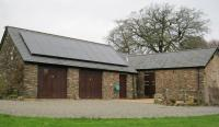 One of our solar photovoltaic installations on a slate roof