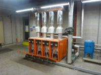 Repair and service of 4 commercial boilers