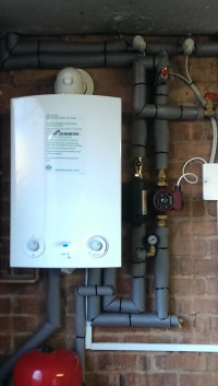 Oil System Replaced with Gas Boiler