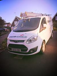 Our lovely company van!
