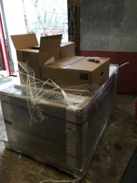 New delivery to site.