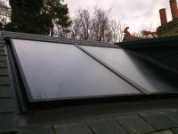 Inset Solar Thermal Installation in Great Barford, Bedford