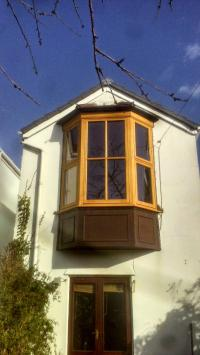 Timber Bay Window - Swansea