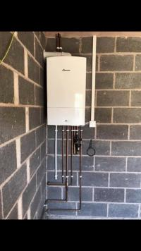 Worcester Bosch boiler install