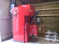 Grant Spira 26kW Pellet Boiler installed in Newport Pagnell, Milton Keynes