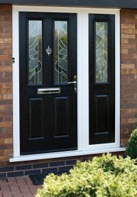 Windsor Composite door with matching side Panel