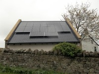 4 kWp of Hyundai Solar Modules in Northumberland