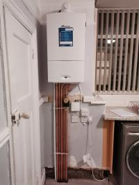 Regular boiler to a Combi with cylinder and tanks removed