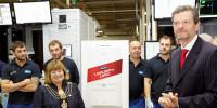 The Millionth ideal Boiler fresh off the production line