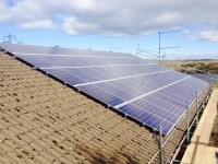 50 kw commercial solar for Welsh water