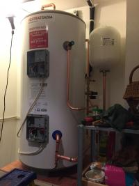 Heatrae sadia unvented hot water cylinder installation