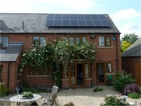 Midlands Solar - 3.76kWp Sanyo HIT235 Panels with a Sunnyboy SB3800 Inverter