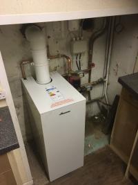 Floor standing Worcester Bosch Oil boiler