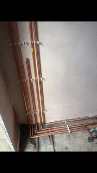 New extension piping