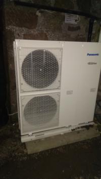 panasonic air source heat pump