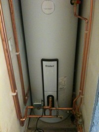 Installation of Vaillant Unvented Cylinder