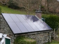 Roof integrated PV system
