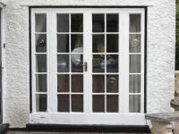 Woodgrain White Astrigal Bar Windows and Doors - Chepstow