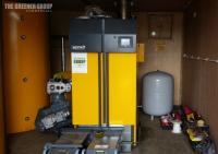 Sheeplands 199kW Biomass Boiler