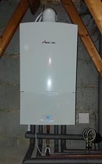 Worcester boiler change