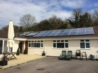 4KWp PV system plus solar thermal.