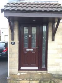 Composite door and side screen