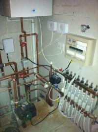 Boiler cupboard