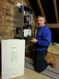 WORCESTER-BOSCH- 38  Cdi COMBINATION BOILER INSTALLER