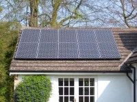 2.5 kWp of Sanyo Solar Modules in Cumbria