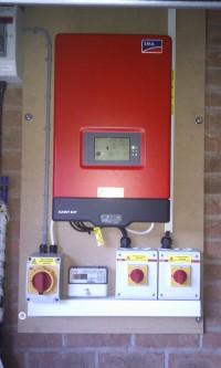 Midlands Solar 3.36kWp Sanyo HIT240 & Sunny Boy SB3000HF Inverter (2).