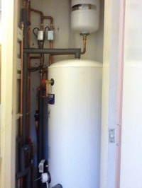 unvented cylinder installation in Wimbledon