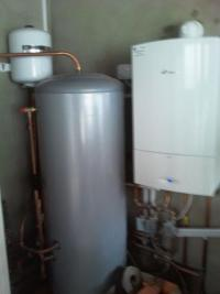 worcester cdi boiler and unvented clyinder