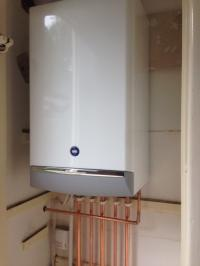 New Baxi combi installation