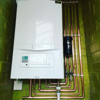 New Vaillant boiler installation