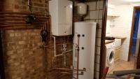 Worcester 24i system with the Worcester Greenstore cylinder and Wave smart energy control. 9 years guarantee