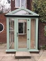 Contempary porch