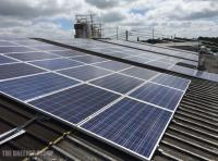 Morris Quality Bakers 100kW solar PV