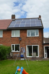 3.75KW Domestic Installation Inkersall, Chesterfield