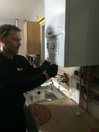 Boiler Installation by 2 RED engineer