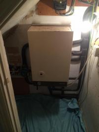 old boiler.