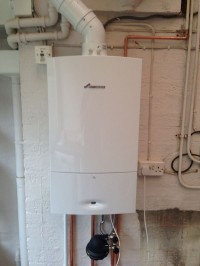 Worcester Open Vent Boiler installed in Birmingham