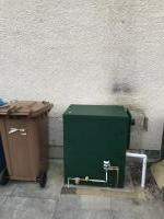 New oil Worcester system boiler.