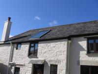 Solar Thermal Panels can be roof-integrated