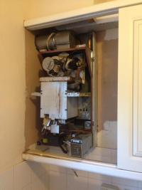 Boiler before