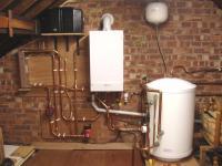 Boiler & cylinder