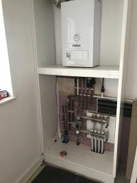Boiler Install and Underfloor Heating Install