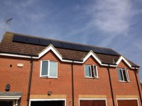 2.5 kW SolarWorld All Black Panels