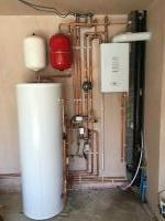 boiler & unvented hot water storage tank