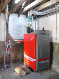 60kW Hargassner Log Boiler